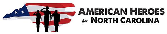 American Heroes for NC logo